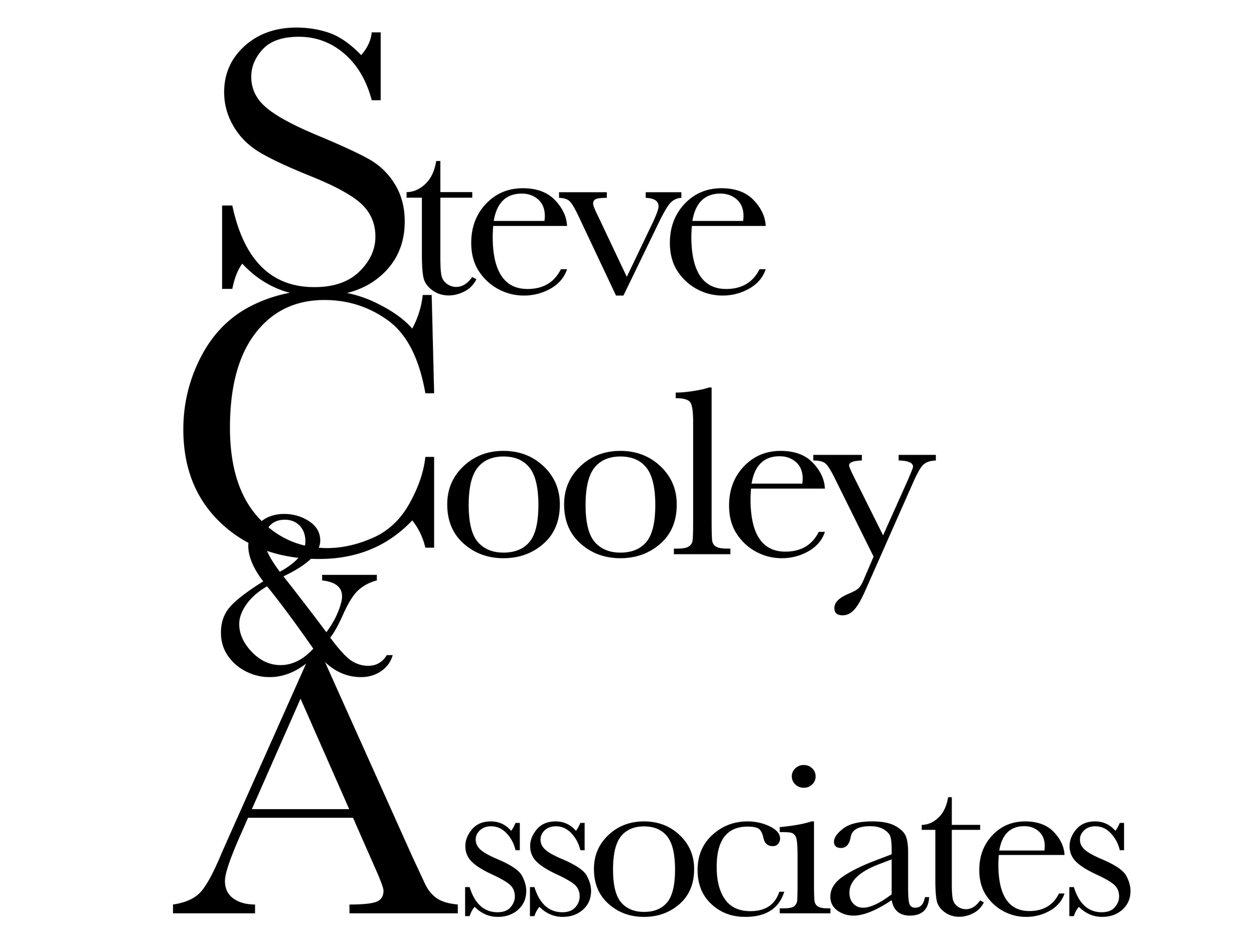 Steve Cooley & Associates, Inc.